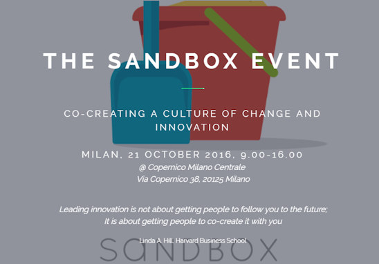 <a href='http://www.sandbox.global' target=_blank>21 OTT@Milano<BR><BR>18 NOV@Paris</a>