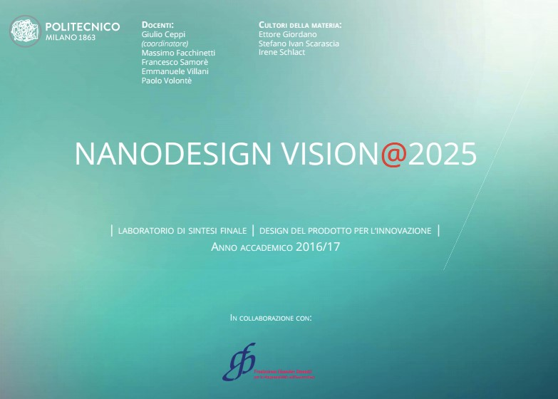 9 NOV @ POLIMI DESIGN  MILANO