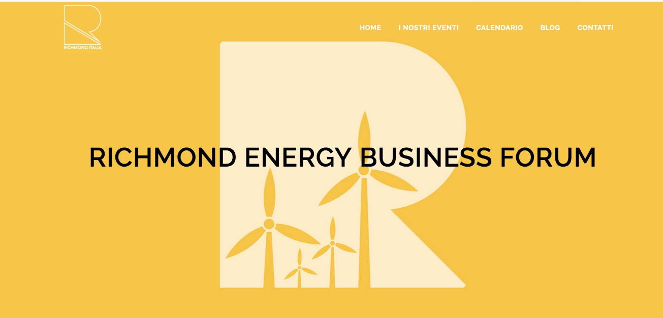 <a href='http://www.richmonditalia.it/energy/' target=_blank>8-9 OCT 2018 @  RIMINI</a><br><br>ENERGY BUSINESS FORUM- RICHMOND